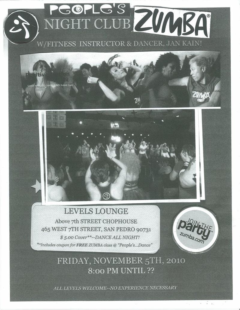 Peoples Zumba Night Club 10.29.10-2