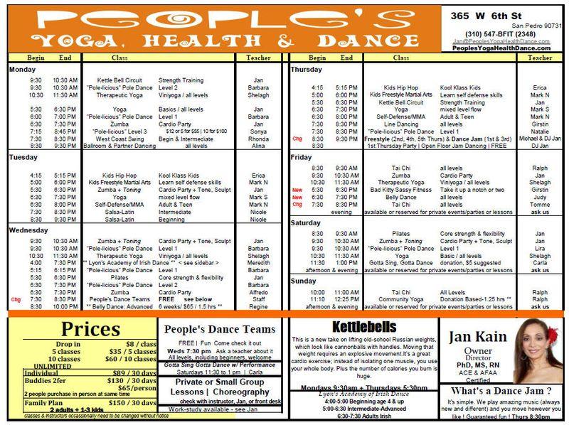 Schedule110616